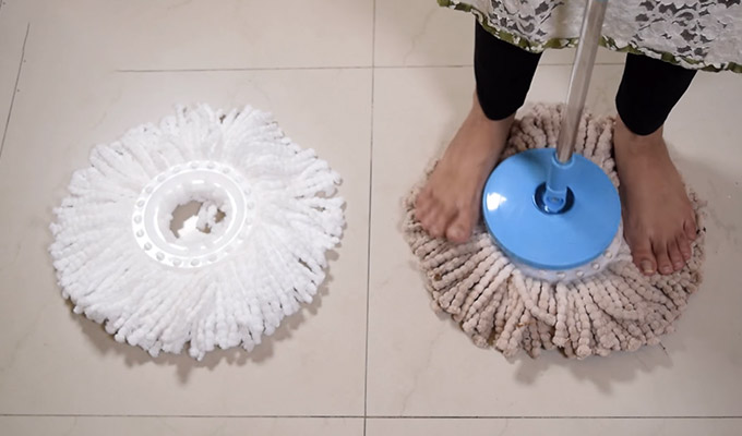 How To Remove Gala Mop Head