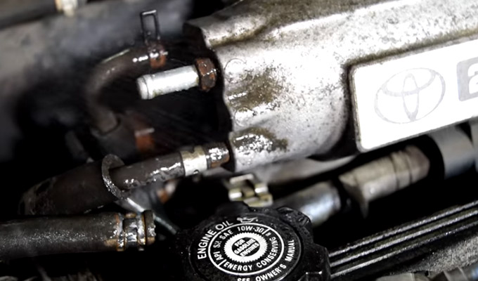 How to Check Intake Manifold Vacuum Leak Using wd40