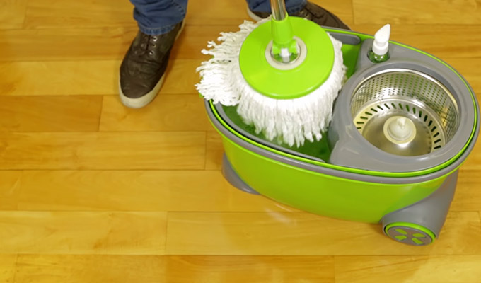 How to Use Spin Mop Milton